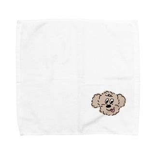 トイプードル Towel handkerchiefs