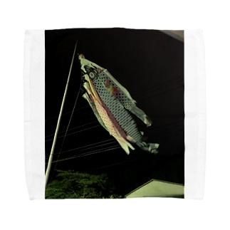 鯉のぼりグッズ Towel handkerchiefs