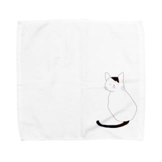 ニャニャ Towel handkerchiefs