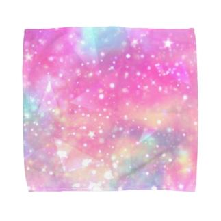 れなしやのカラフル☆ギャラクシー Towel handkerchiefs