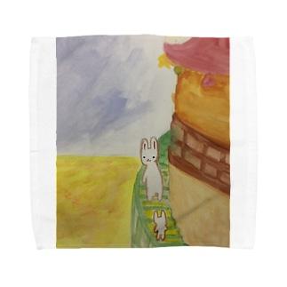 もんたとこもんた Towel handkerchiefs