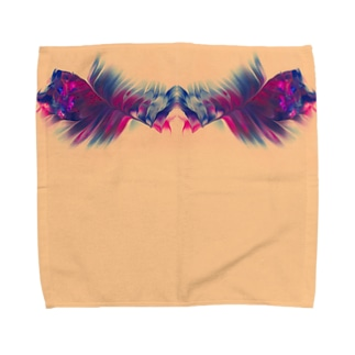 色彩の羽根 002 Towel handkerchiefs