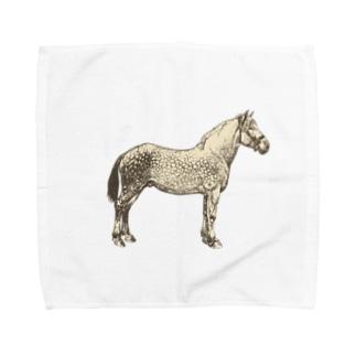 パカッパカッ、お馬さん Towel handkerchiefs