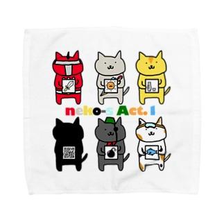 neko-s Act.1 Towel handkerchiefs
