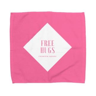 FREE HUGS(フリーハグ)【ダイヤ】 Towel handkerchiefs