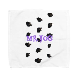 歩く犬 Towel handkerchiefs