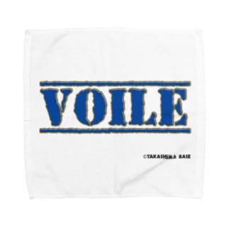高島ベースーVOILE Towel handkerchiefs