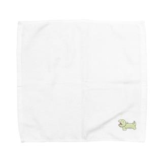 トカゲくん Towel handkerchiefs