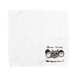 三角関係サーズデェ Towel handkerchiefs