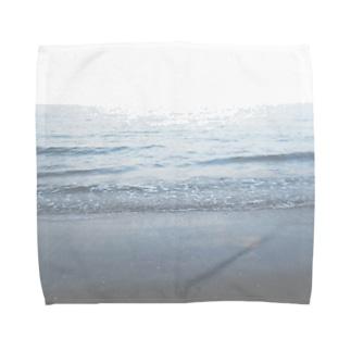 約束の海 Towel handkerchiefs