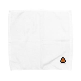 焼きおにぎり Towel handkerchiefs