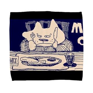 猫ご飯 Towel handkerchiefs