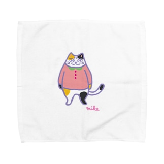 みけ。 Towel handkerchiefs
