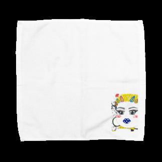 Naughty clown .のROCK!! Towel handkerchiefs