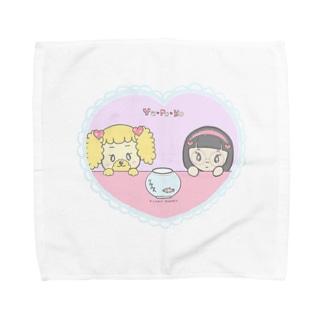 ラブリーメダカ Towel handkerchiefs