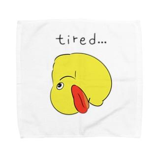 アヒルのおもちゃ Towel handkerchiefs