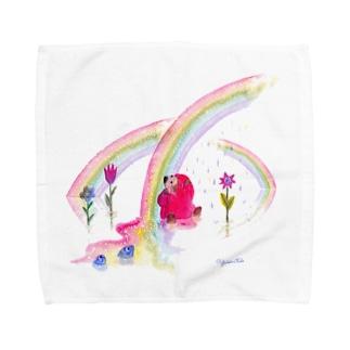 甘い虹 Towel handkerchiefs