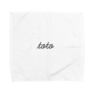 とと Towel handkerchiefs