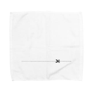 キリトリ Towel handkerchiefs