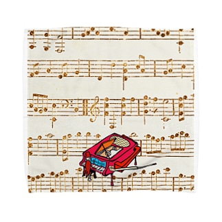 ピアノ調律師 Towel handkerchiefs