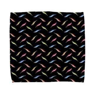 エギ_K Towel handkerchiefs