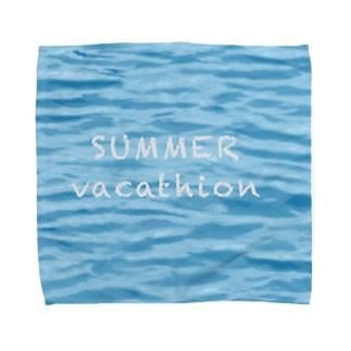 SUMMER vacathion Towel handkerchiefs