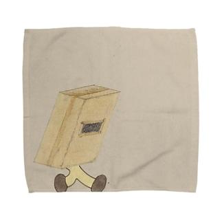 飛び出し箱男 Towel handkerchiefs