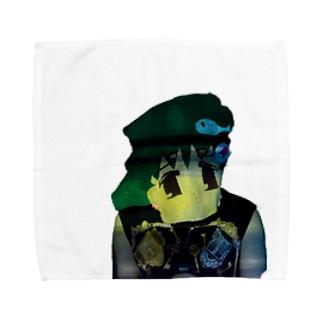 マウさん Towel handkerchiefs