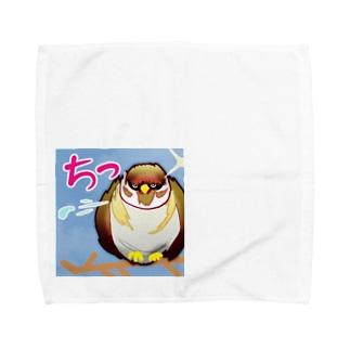 チっ、すずめ。 Towel handkerchiefs