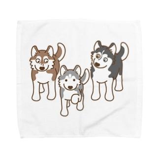 まねっこ銀ちゃん Towel handkerchiefs
