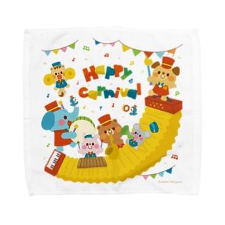 カーニバル Towel handkerchiefs