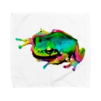 Akrofrog Towel handkerchiefs