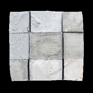 DAIGAKUKUNのコンクリート Towel handkerchiefs