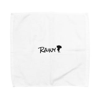 RAINYロゴ Towel handkerchiefs