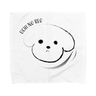 ウチのレオ Towel handkerchiefs