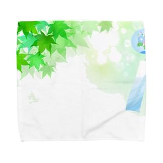 風そよぐ Towel handkerchiefs