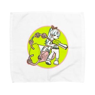 タピオカバスターズ長女 Towel handkerchiefs
