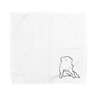 イッヌ♀ Towel handkerchiefs