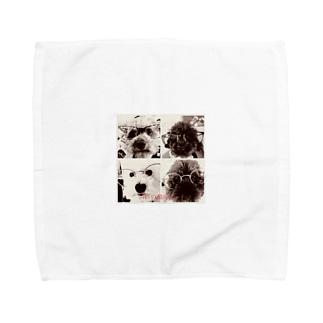4匹の湘南ボーイ Towel handkerchiefs