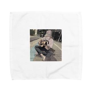 エモギター Towel handkerchiefs