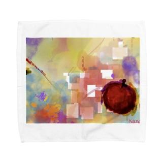 Pastel Apple Towel handkerchiefs