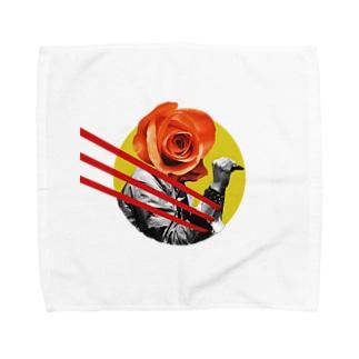 なうちのFlowers of Romance Towel handkerchiefs