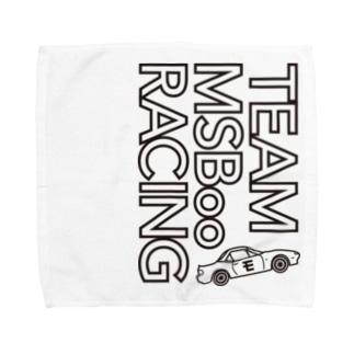 TEAM モタスポ部 RACING Towel handkerchiefs