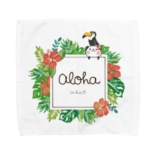 ALOHA パンダ Towel handkerchiefs