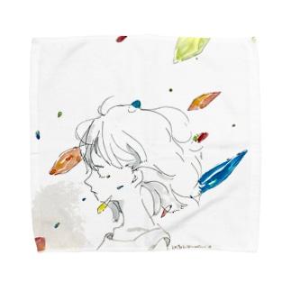 あなたを待ってる、 Towel handkerchiefs