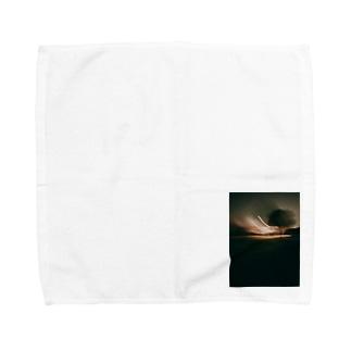 宇宙との交信 Towel handkerchiefs