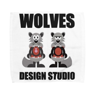 WOLVES Towel handkerchiefs