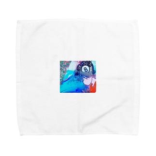 崖の上のp●ny● Towel handkerchiefs
