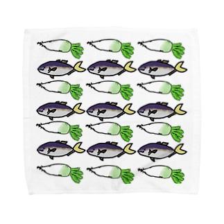 ぶりだいこん Towel handkerchiefs