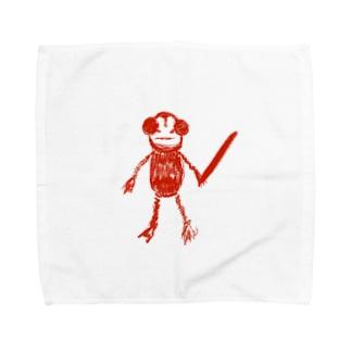 サイコカエル Towel handkerchiefs